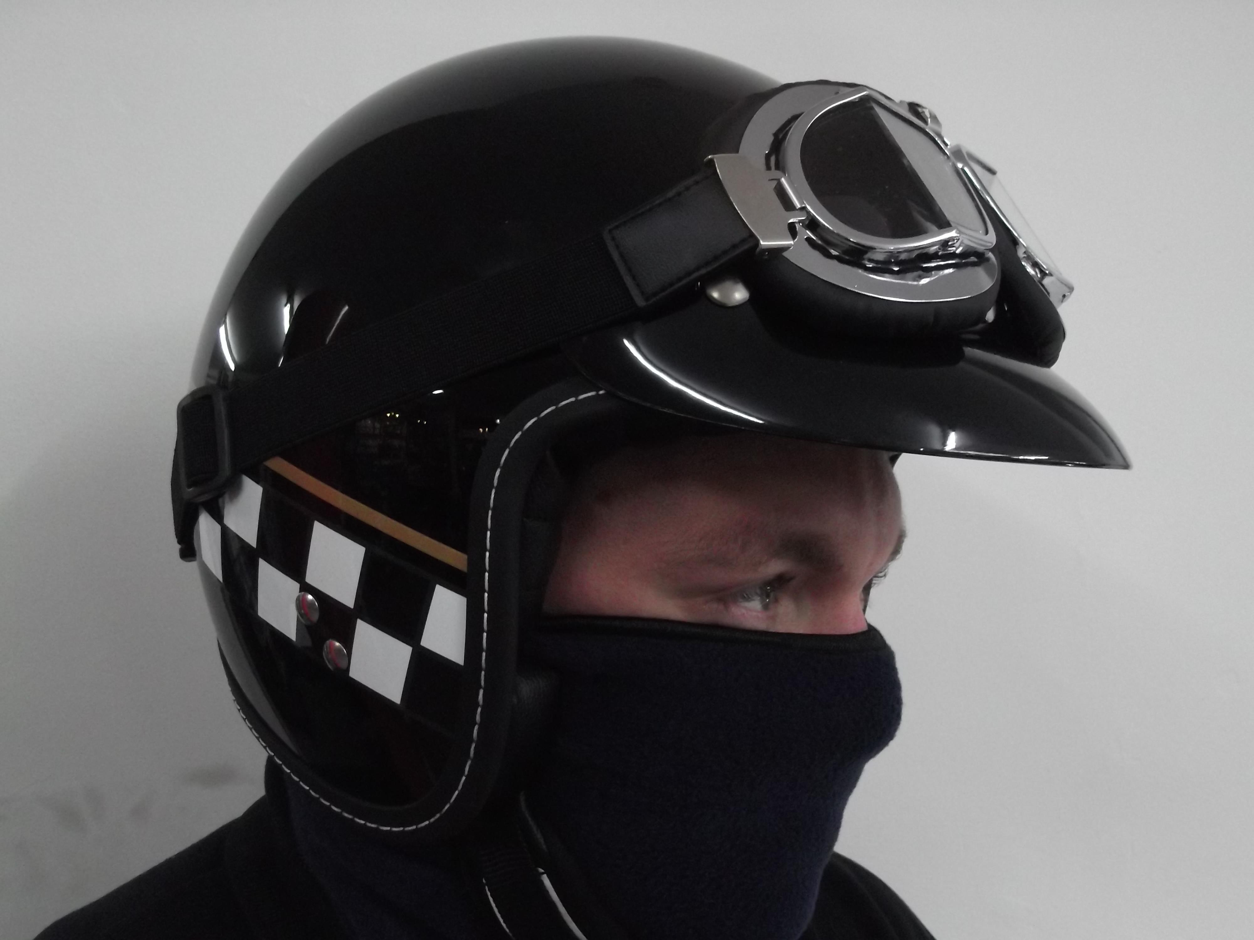 AGV RP60 Metal Flake Open-face Street Helmet Orange