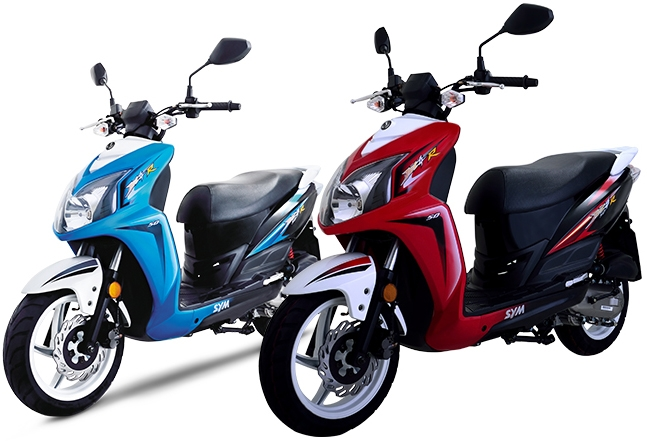 Official sym dealers cd scooters for Motor scooter dealers near me