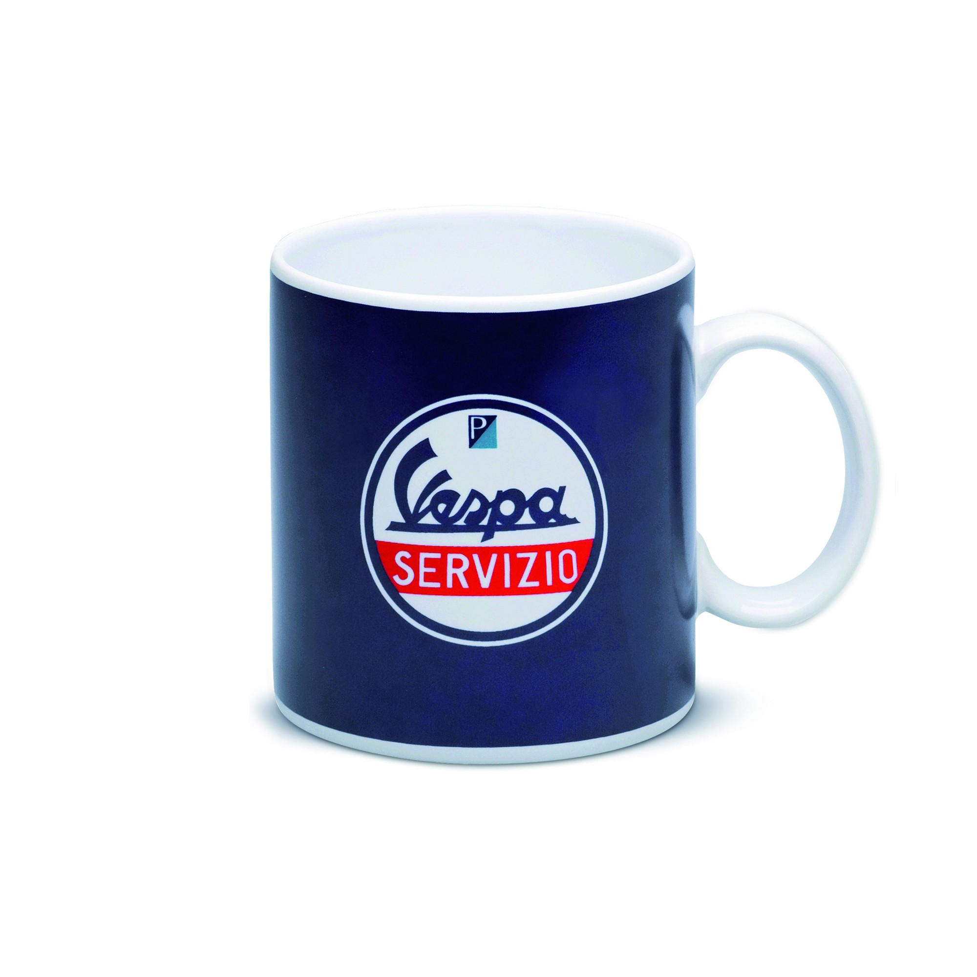 Vespa Servizio Coffee Mug Blue