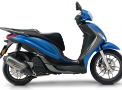 Piaggio 2016 updates to the Liberty and the new Piaggio Medley