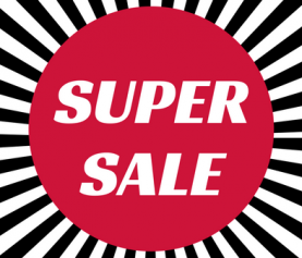 Super Sale from 28th November till 23rd Dec … when they are gone they are gone!!!!